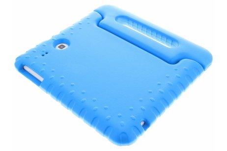 Samsung Galaxy Tab E 9.6 hoesje - Blauwe tablethoes met handvat