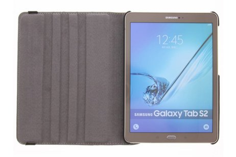 Samsung Galaxy Tab S2 9.7 hoesje - 360° draaibare tijger design