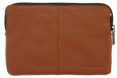 Decoded Bruine Leather Slim Sleeve voor de iPad Mini / 2 / 3 / 4