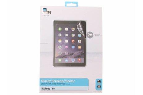 Be Hello Glossy Screenprotector voor de iPad Pro 12.9