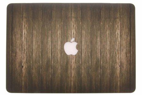 MacBook Pro Retina 15.4 inch (2013-2017) hoesje - Hout design hardshell voor