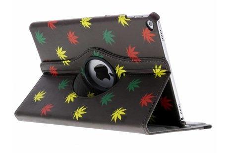 iPad Air 2 hoesje - 360° draaibare meerkleurig plant