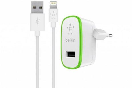 Belkin Boost↑Up Home Charger 2,4A + Lightning kabel naar USB-kabel 1,2 meter