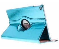 Blauw 360° draaibare glamour tablethoes iPad Air 2