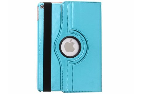 iPad Air 2 hoesje - Blauwe 360° draaibare glamour