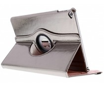 Grijs 360° draaibare glamour tablethoes iPad Air 2