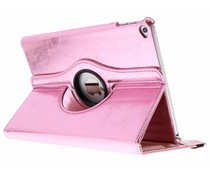 Roze 360° draaibare glamour tablethoes iPad Air 2