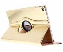 Goud 360° draaibare glamour tablethoes iPad Air 2