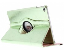 Groen 360° draaibare glamour tablethoes iPad Air 2