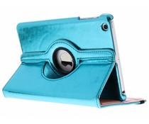Blauw 360° draaibare glamour tablethoes iPad Mini / 2 / 3