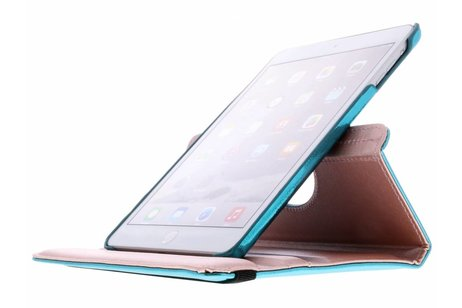 Blauwe 360° draaibare glamour tablethoes voor de iPad Mini / 2 / 3