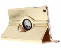 Goud 360° draaibare glamour tablethoes iPad Mini / 2 / 3