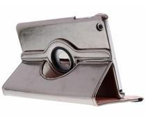 Grijs 360° draaibare glamour tablethoes iPad Mini / 2 / 3