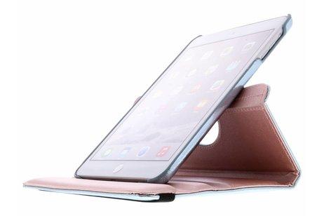 Lichtblauwe 360° draaibare glamour tablethoes voor de iPad Mini / 2 / 3