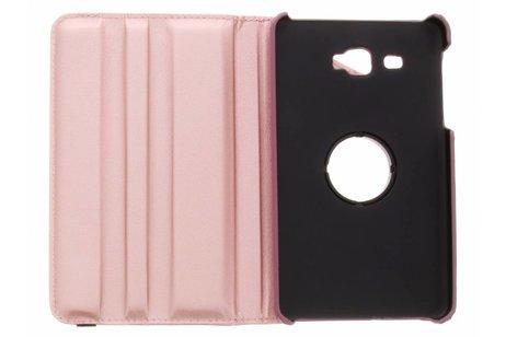 Samsung Galaxy Tab A 7.0 (2016) hoesje - Roze 360° draaibare glamour