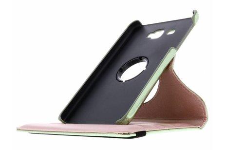 Samsung Galaxy Tab A 7.0 (2016) hoesje - Groene 360° draaibare glamour