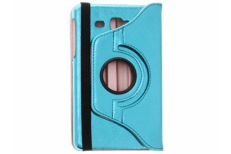 Samsung Galaxy Tab A 7.0 (2016) hoesje - Blauwe 360° draaibare glamour