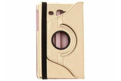 Samsung Galaxy Tab A 7.0 (2016) hoesje - Gouden 360° draaibare glamour