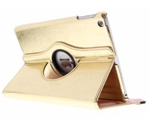 Goud 360° draaibare glamour tablethoes iPad Air