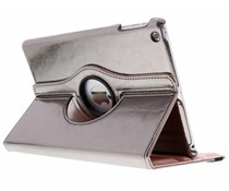 Grijs 360° draaibare glamour tablethoes iPad Air