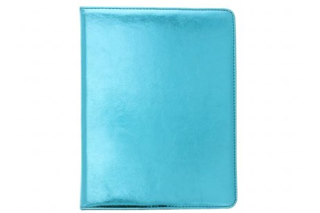 Blauwe 360° draaibare glamour tablethoes voor de iPad 2 / 3 / 4