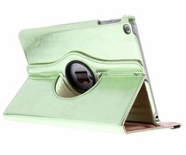 Groen 360° draaibare glamour tablethoes iPad (2018) / (2017)