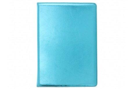 Blauwe 360° draaibare glamour tablethoes voor de iPad (2018) / (2017)