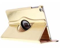 Goud 360° draaibare glamour tablethoes iPad (2017)