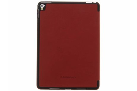 iPad Pro 9.7 hoesje - Decoded Rode Leather Slim