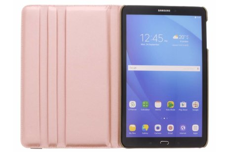 Samsung Galaxy Tab A 10.1 (2016) hoesje - Gouden 360° draaibare glamour