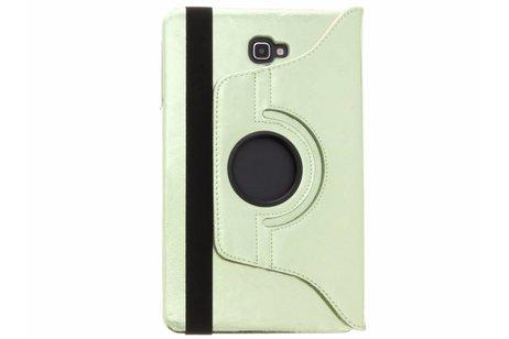 Samsung Galaxy Tab A 10.1 (2016) hoesje - Groene 360° draaibare glamour