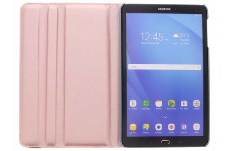 Samsung Galaxy Tab A 10.1 (2016) hoesje - Lichtblauwe 360° draaibare glamour