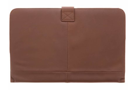 MacBook Air 11.6 inch hoesje - Decoded Bruine Leather Slim