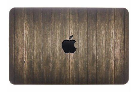 MacBook Air 11.6 inch hoesje - Hout design hardshell voor