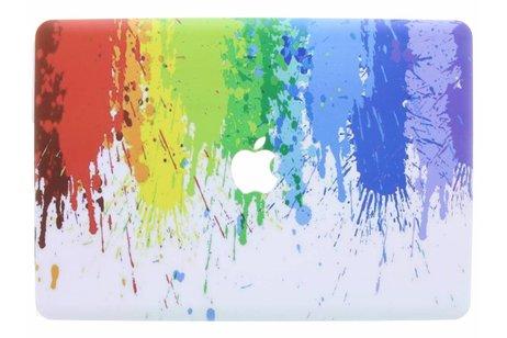 MacBook Pro 15.4 inch hoesje - Verf design hardshell voor