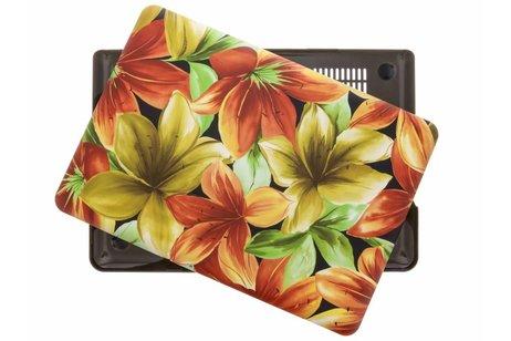 MacBook Pro 13.3 inch hoesje - Bloemen Design hardshell voor