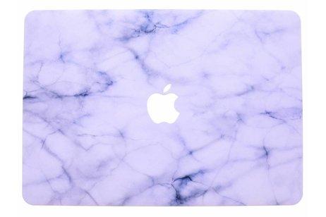 MacBook Air 13.3 inch hoesje - Marmer design hardshell voor