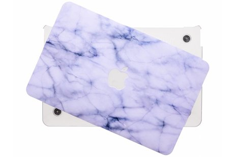 MacBook Air 11.6 inch hoesje - Marmer design hardshell voor