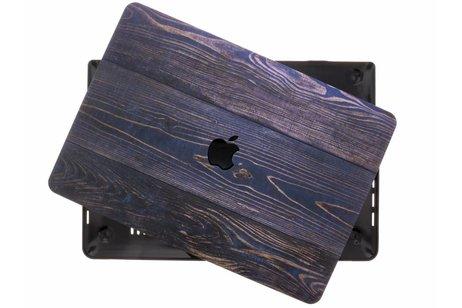 MacBook Pro Retina 13.3 inch Touch Bar hoesje - Hout design hardshell voor