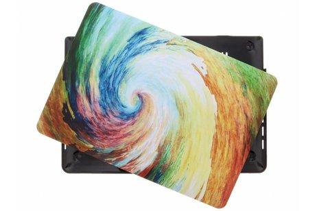 MacBook Pro Retina 13.3 inch Touch Bar hoesje - Kleuren design hardshell voor