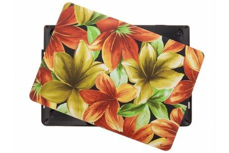 MacBook Pro Retina 13.3 inch Touch Bar hoesje - Bloemen design hardshell voor