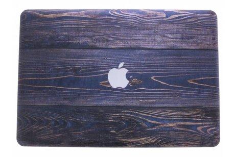 MacBook Pro 15.4 inch hoesje - Hout design hardshell voor