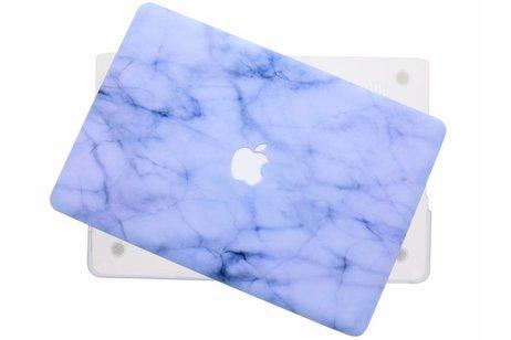 MacBook Pro 15.4 inch hoesje - Marmer design hardshell voor