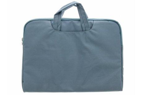 Blauwe universele laptoptas 13 inch