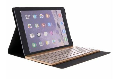 Rosé Gouden Bluetooth Keyboard Case voor de iPad (2018) / (2017) / Air 2 / Air