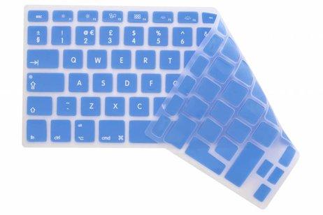 Blauwe CrystalGuard toetsenbord cover