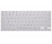 Zilver CrystalGuard toetsenbord cover