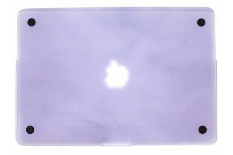 MacBook Pro Retina 15.4 inch (2013-2017) hoesje - Marmer design hardshell voor