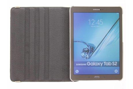 Samsung Galaxy Tab S2 9.7 hoesje - 360° draaibare flamingo design