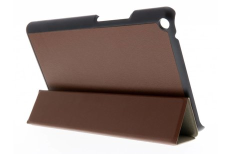 hoesje - Bruine Stand Tablet Cover